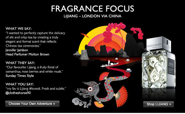 China Comes to Molton Brown with New fragrance Lijiang