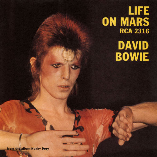 life on mars david bowie