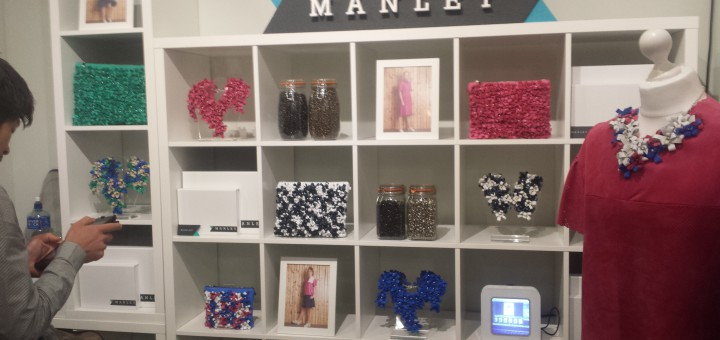 romantic, clean and vivacious, jewelry & dresses by manley