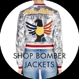 Women`s designer bombers jackets