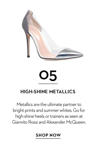 High shine metallics