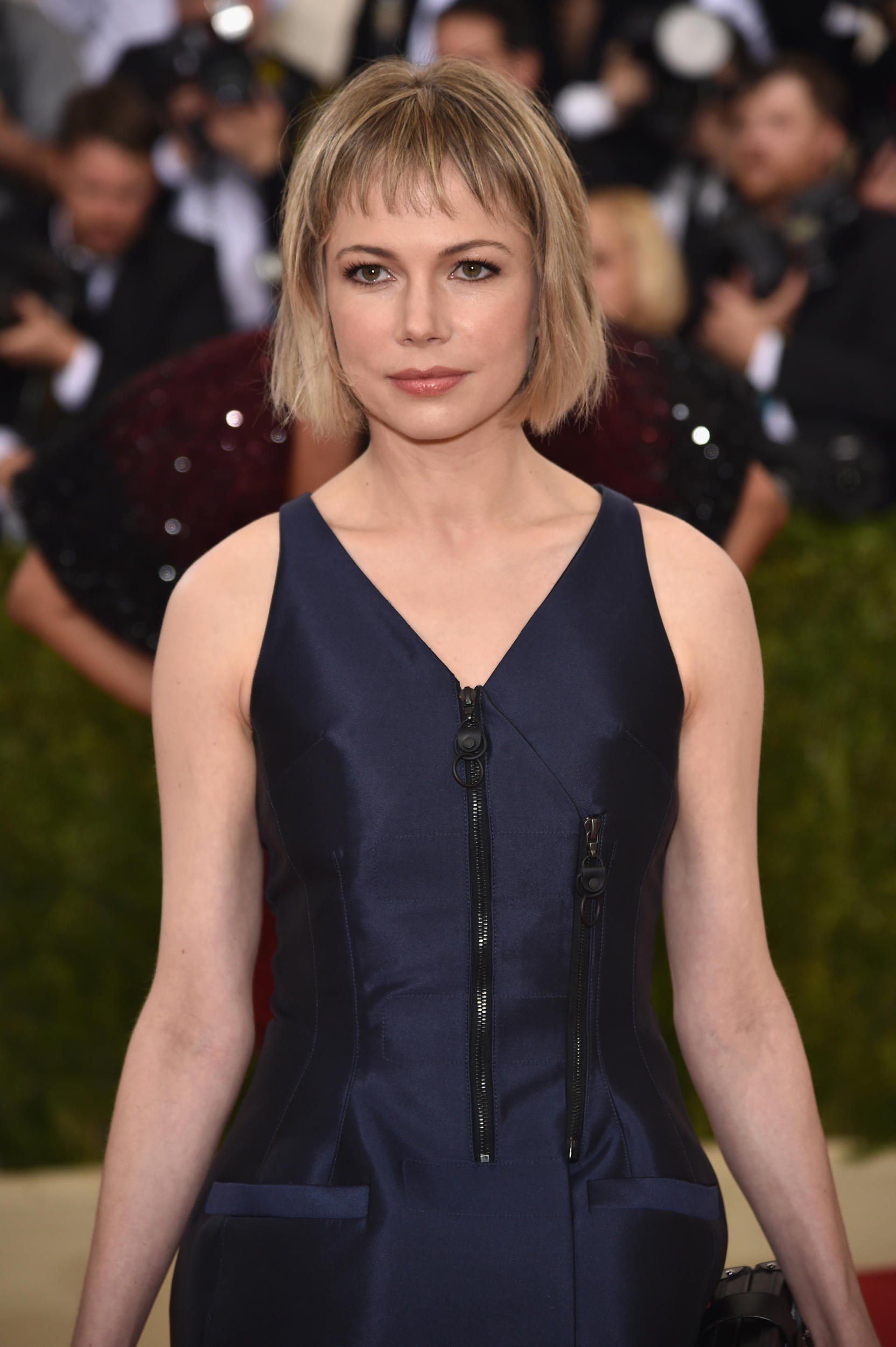 michelle williams met gala hair