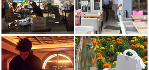 pynck day at the beach: restaurants and shops in cannes
