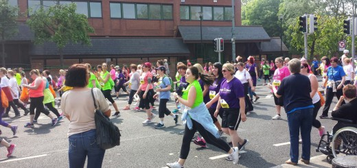 over 35,000 run the ladies mini marathon dublin