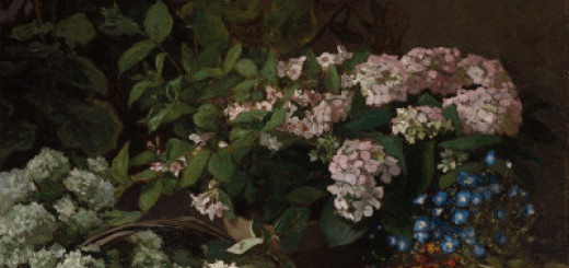 Claude Monet, Spring Flowers, 1864