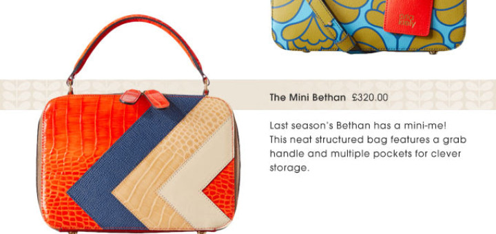 new bags on the block   delivery on us! orla kiely