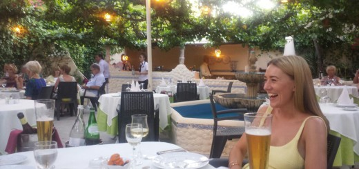 awesome fish, steaks and desserts at mr. freddie's almancil portugal
