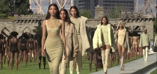 day one at new york fashion week – yeezy season 4.