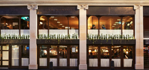 Cafe Monico restaurant front