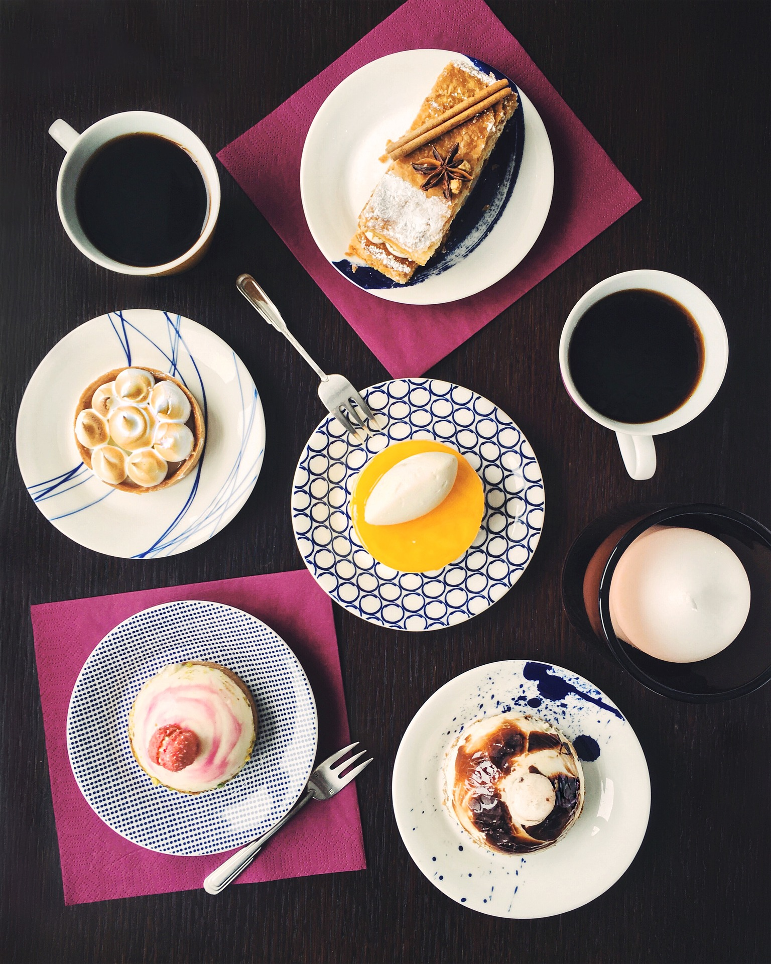 Desserts and Coffee, Cafes, London