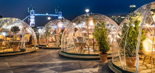 igloos on the thames at coppa club