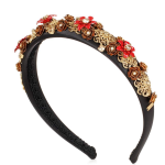 Dolce and Gabbana embellished headband
