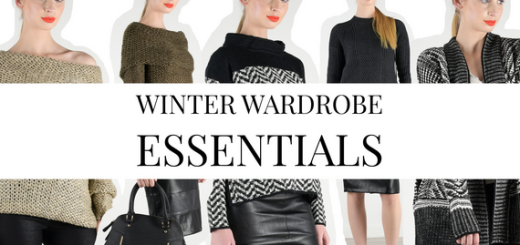 must have! winter wardrobe essentials!