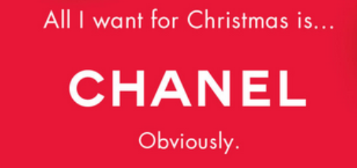 chanel for christmas – as if you haven't hinted…