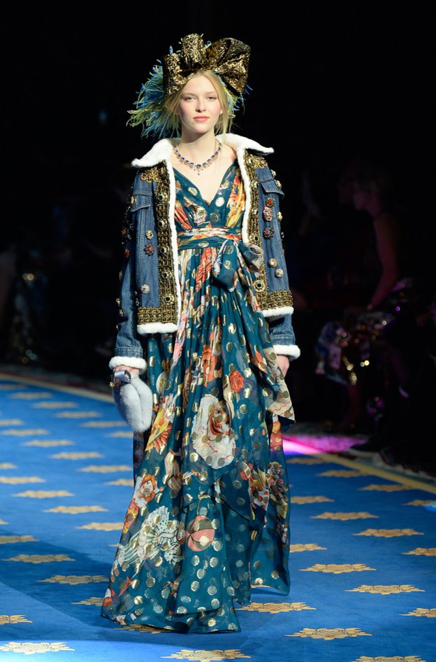 Dolce and Gabbana couture