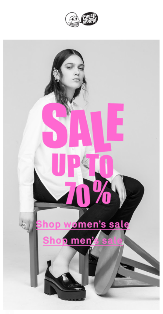 Up to 70% off on sale - Pynck