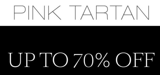 pink tartan final sale! take an extra 30% off