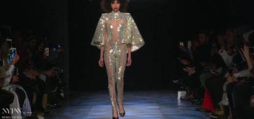 london fashion week – runway video: michael costello