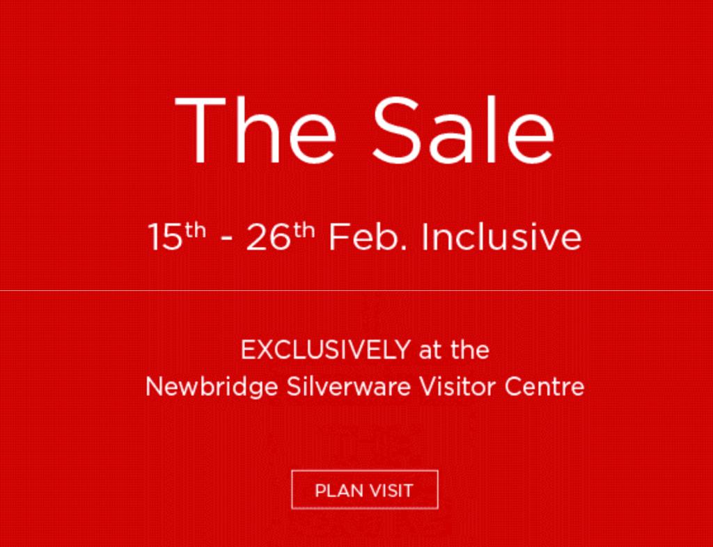 The 2017 Newbridge Silverware Sale Starts Soon Pynck