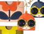 Orla Kiely Finishing touches with cute accessories!