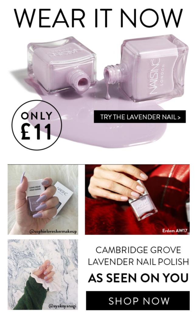 lavender-nail