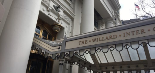 where to stay in dc: willard intercontinental