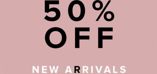 tobi – 50% off new starts now!