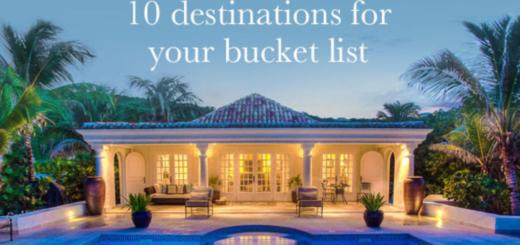 this summer's top 10 villa getaways