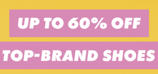 up to 60% off top-brand shoes – heel, yeah!