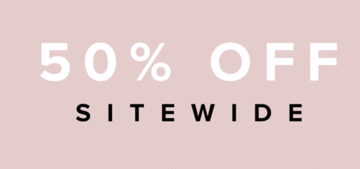 tobi – all choked up with 50% off sitewide!