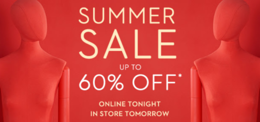 brown thomas summer sale starts online tonight, in store tomorrow