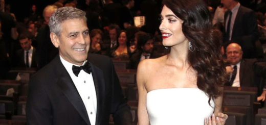 the clooney twins are here