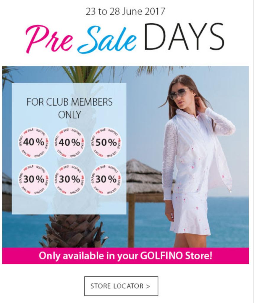 golfino-pre-sale-days