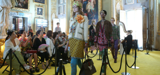 gucci presented a whopping 115 looks at its cruise 2018 show