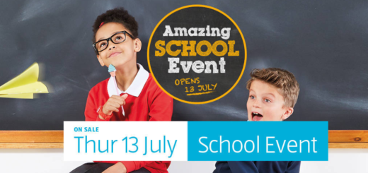 aldi – schoolwear event – thursday 13th july