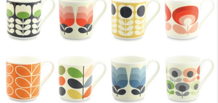 orla kiely – new range of beautiful patterned mugs