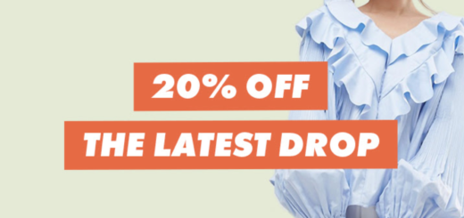 asos – 20% off new pieces for right now
