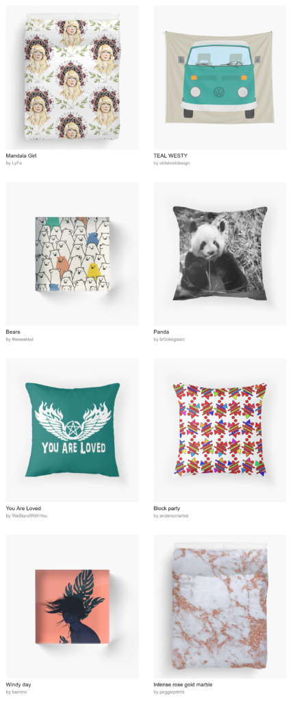 redbubble-home-decor
