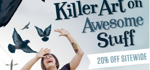 redbubble – get 20% off!