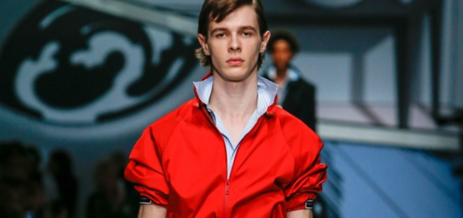the most exclusive comeback at milan fashion week: popped up collars