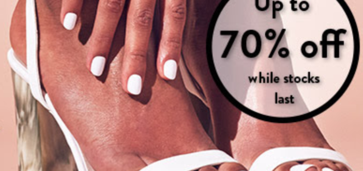 nails inc. flash sale – up to 70% off