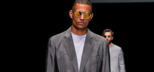 giorgio armani played textures at made in armani show in milan