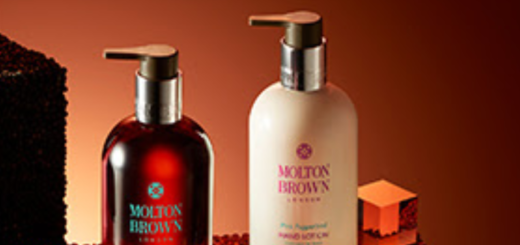molton brown pink & black pepper hand care collection