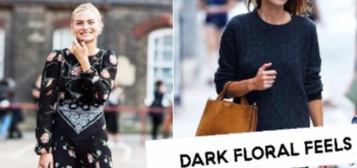 dresses.ie presents dark floral : autumn vibes….