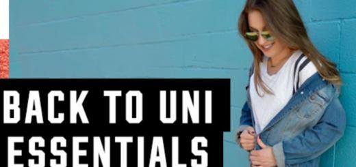 victoria's secret pink – back-to-uni essentials