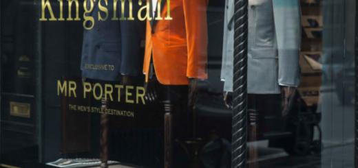 kingsman x mr porter shop at no.4 st james's street