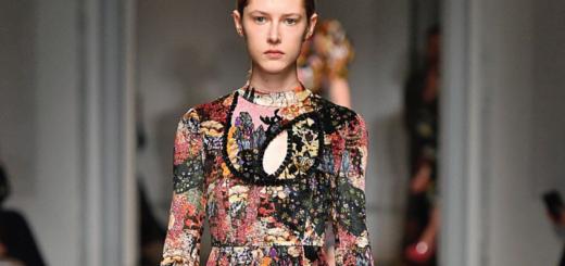 erdem aw17 runway pieces | the zuzanna dress
