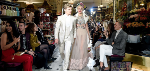 dolce and gabbana at harrods
