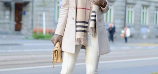trend talk: white jeans in winter