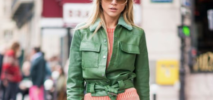 trend talk: colourful leather
